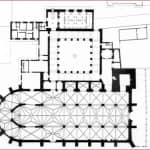 Planta general de la Catedral Magistral de Alcalá de Henares