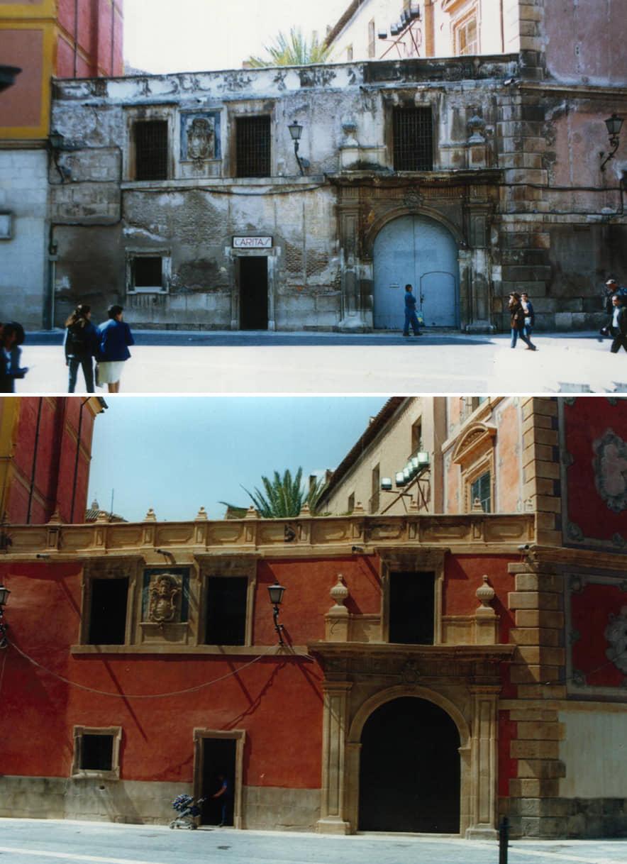 Palacio episcopal de murcia arquitectos lavila for Zocalo fachada exterior